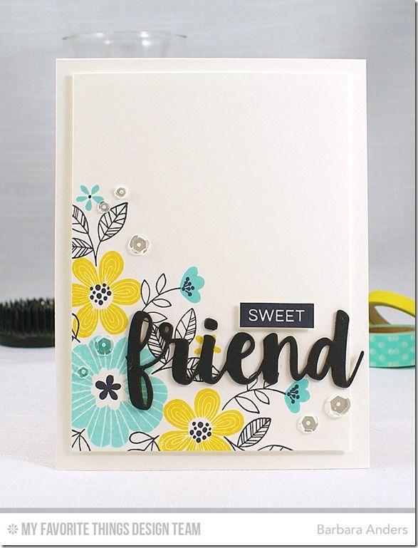 Sweet Friend–CTD #409 | Paper Pursuits | Bloglovin'
