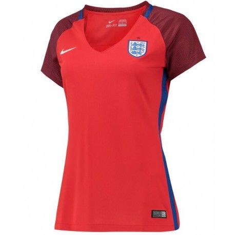 Maillot Angleterre Euro Femme 2016 Extérieur