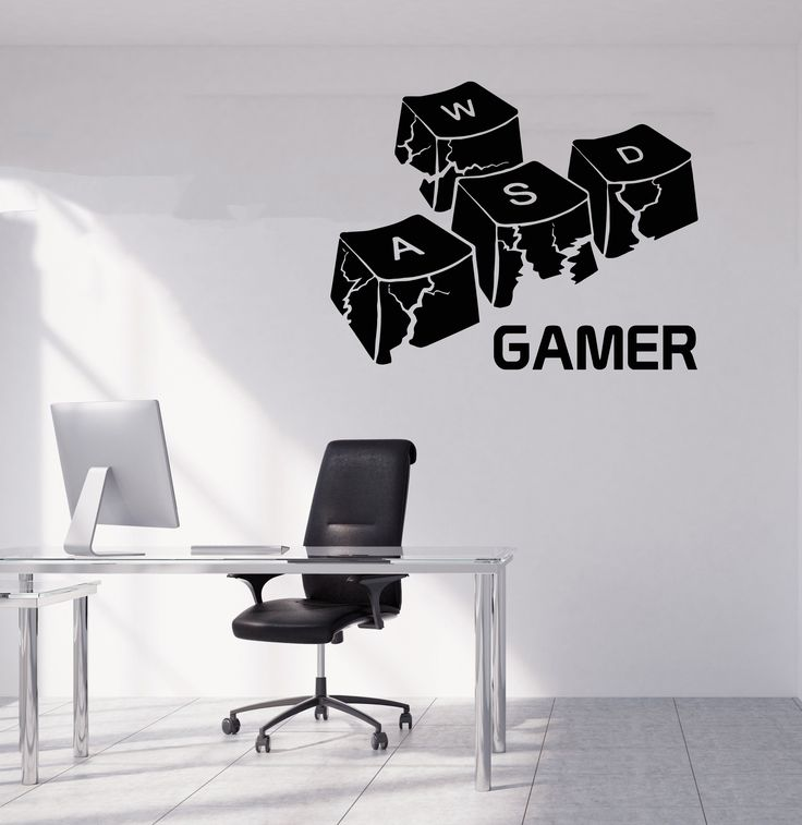 Gamer Wall Decal Gamer Decals Controller Decals Personalized Gamer Room 3084