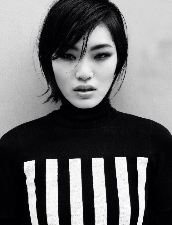 Mod Revolution Magazine: Vogue China February 2013 Photographer: Daniel Jackson Model: Chiharu Okunugi