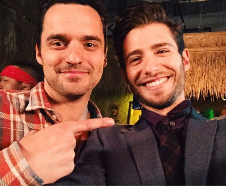 Pin for Later: 30 Supersexy Reasons to Love British Actor Julian Morris When He Smiled With Jake Johnson and All Was Well in the World