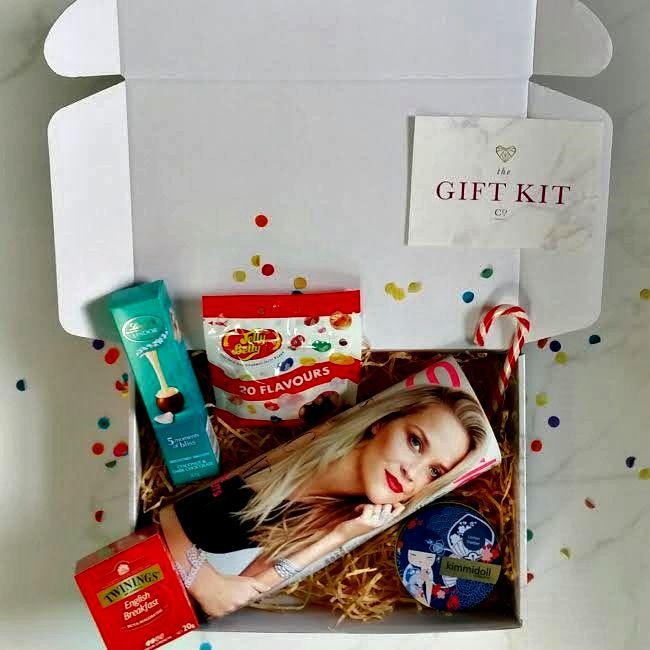 Kitted up.  Our deliveries come in a gorgeous marble box.  Talk about feeling special. www.thegiftkitco.com.au