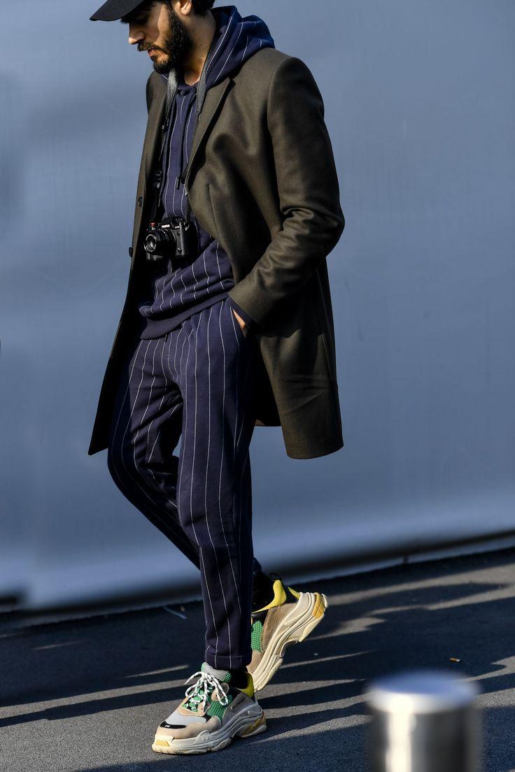 Milan Men's Fashion Week AW18: best street style | British GQ #Men'sFashionStyles