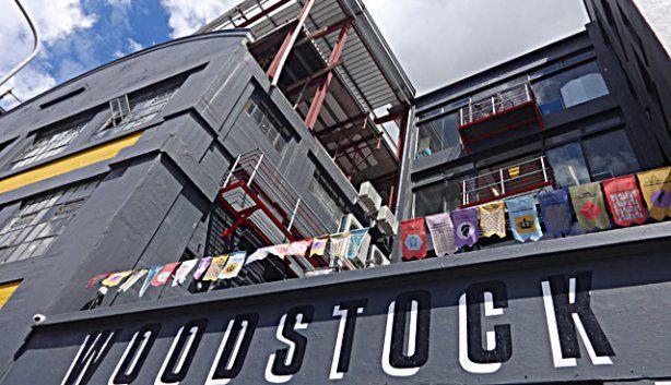 Das preisgekrönte Woodstock Exchange Kreativzentrum in Kapstadt