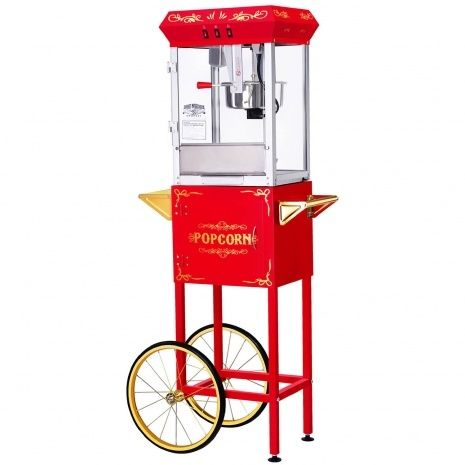 Popcorn Machine On Wheels