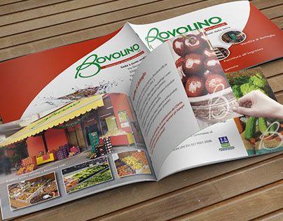 Ideazione grafica e stampa di brochure in formato orizzontale per presentazione aziendale
