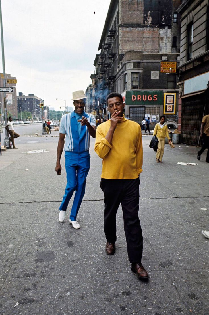 70's Harlem photography by Jack Garofalo