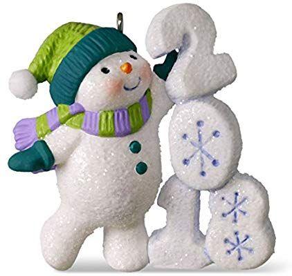 c07c2a1cca547 Amazon.com  Hallmark Keepsake Christmas Ornament 2018 Year Dated ...