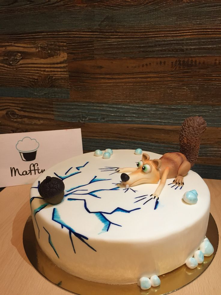 Торт с белкой, ледниковый период