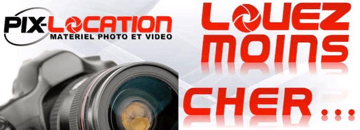 Location objectif photo, appareil photo canon, nikon, caméra vidéo, éclairage studio, fond, Imprimante, drone, borne photo - PIX-LOCATION