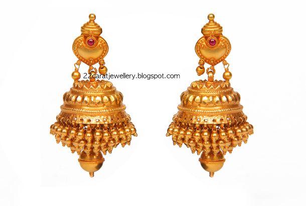 Designer Gold Earrings From Josco Jewellers | Jewellery Designs