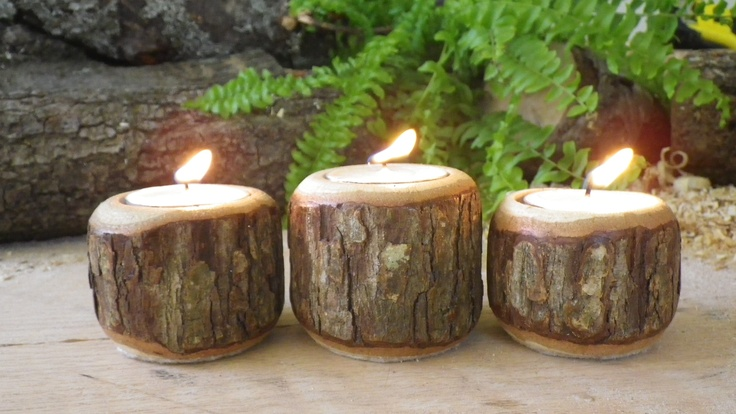 These are nice lathe made candle holders