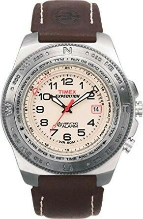 Timex Men's T41731 Vibrating Easy Set Alarm Classic Analog Watch: Timex: Watches