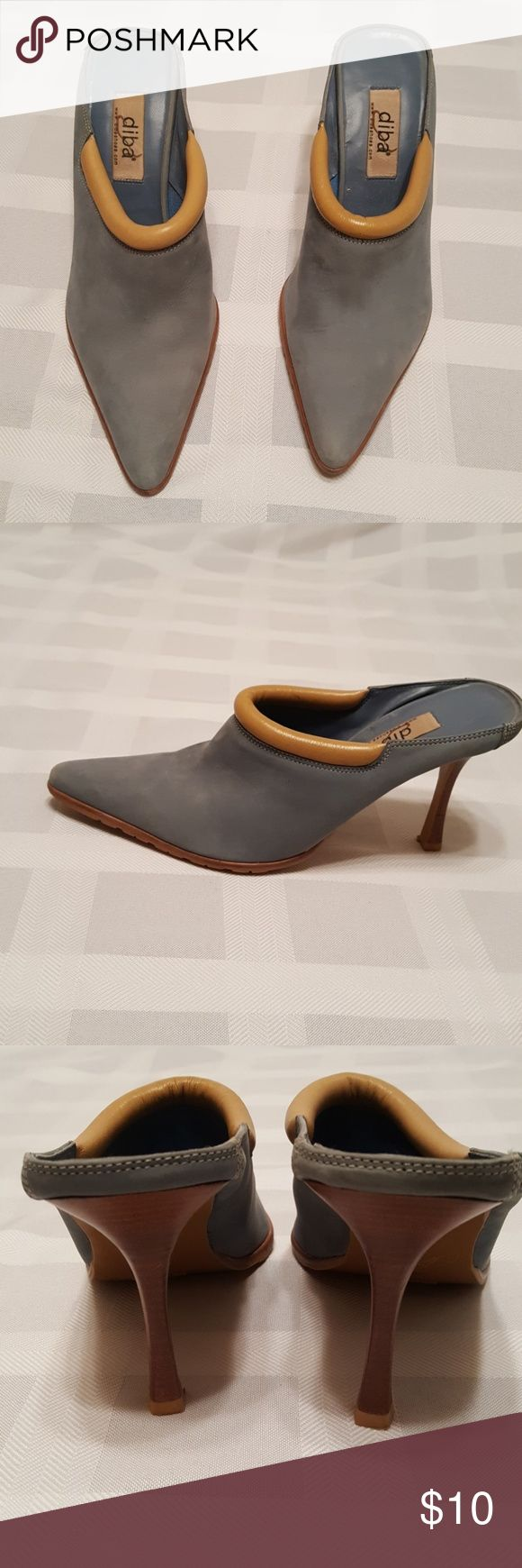 Women's mules Women's used shoes very cute. See photo for imperfections. Diba Shoes Mules & Clogs