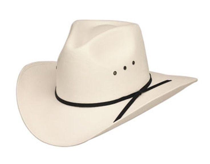 White Mountain Straw Cowboy Hat Men's Cowboy Hats Women's Western Hats Kids Hats #WesternExpress #CowboyWestern