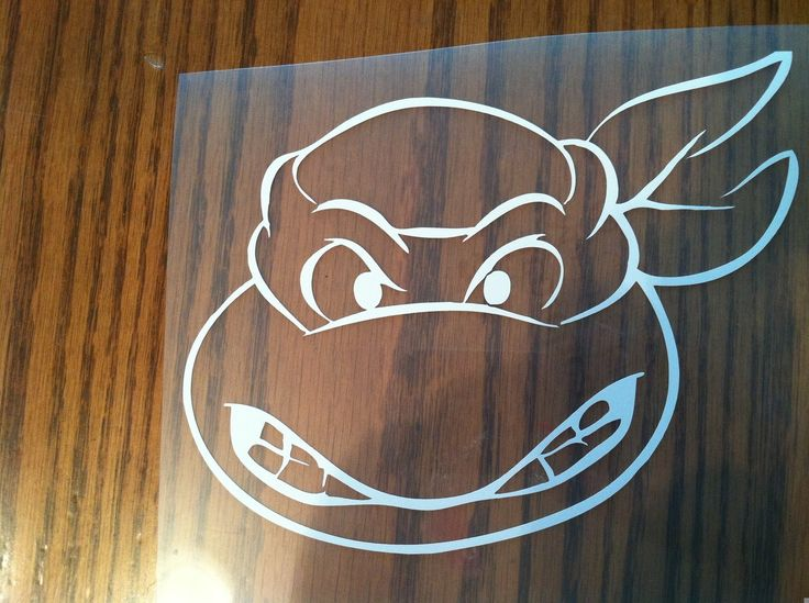 Teenage Mutant Ninja Turtles Vinyl Decal Sticker Car Truck