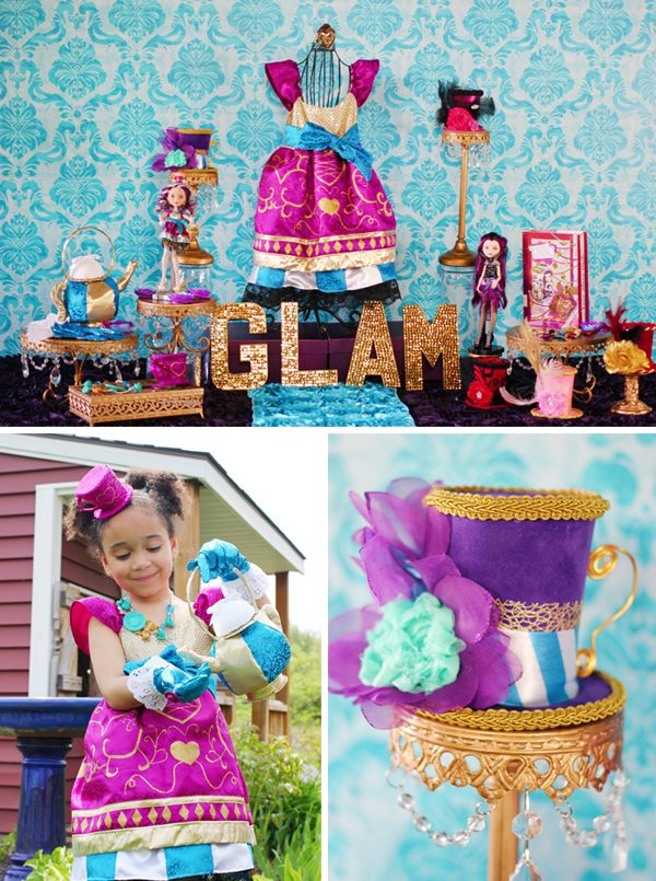 """""""Ever After High"""" Party Theme"""