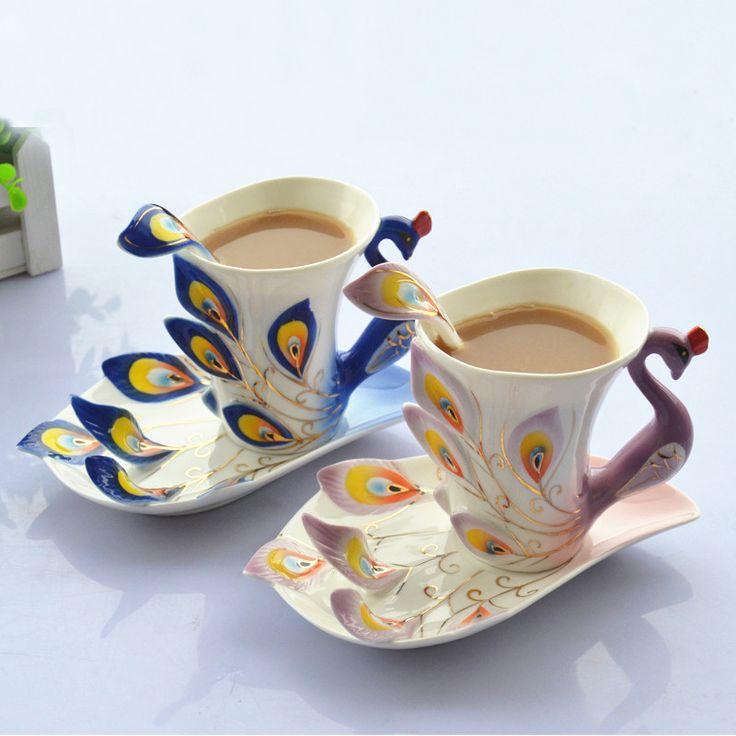 Натальной новогоднее украшение свадебные подарки романтический подарок на день рождения подруга подарки тонкой красивая навидад чашки кофе(China (Mainland))