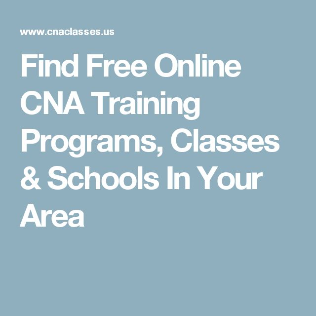Best  Cna Programs Ideas On   Certified Nursing