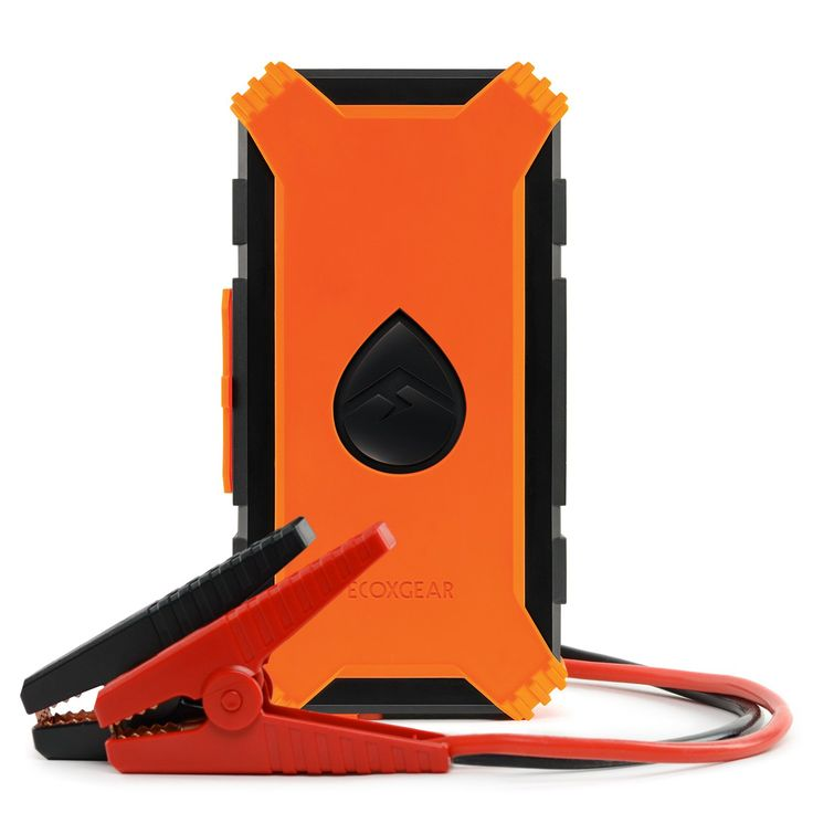 ECOXGEAR EcoJump Portable 55,000mWh Car Jump Starter & Charger with Bluetooth Notification - Orange