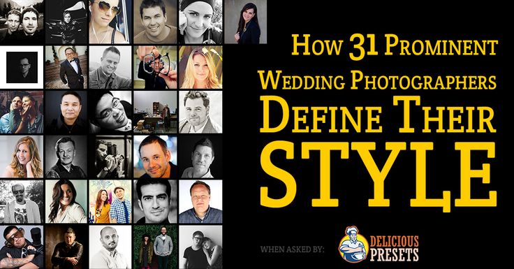 How 31 Prominent Wedding Photographers Define Their Style