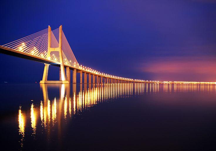 Vasco da Gama Bridge by Rui Sanches on 500px
