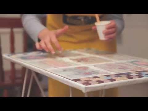 Como sublimar con laminas sobre azulejos preparados? Eq Arte