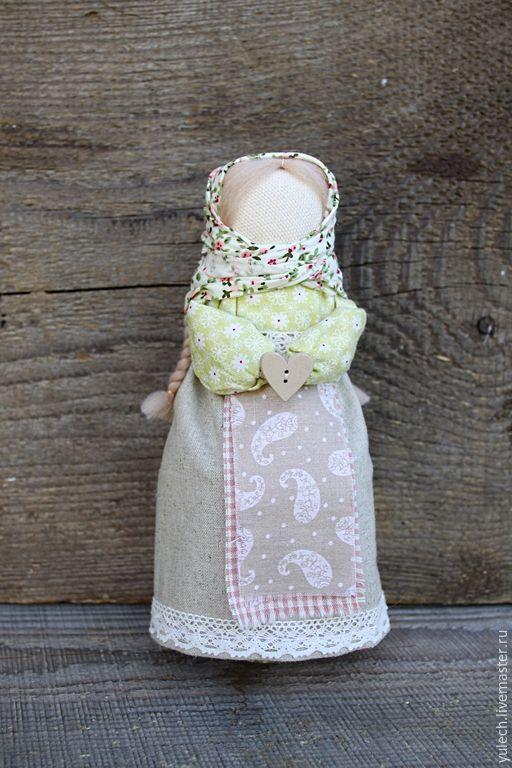 """Купить Куколка-перевертыш девка-баба """" Трепетность и мудрость"""" - разноцветный, народная кукла"""