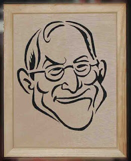 From the Apple 1 to the iPhone 4s, Steve played a huge role in the company. Don't forget what Steve Jobs has done for us. Here is a scroll saw pattern in his name.