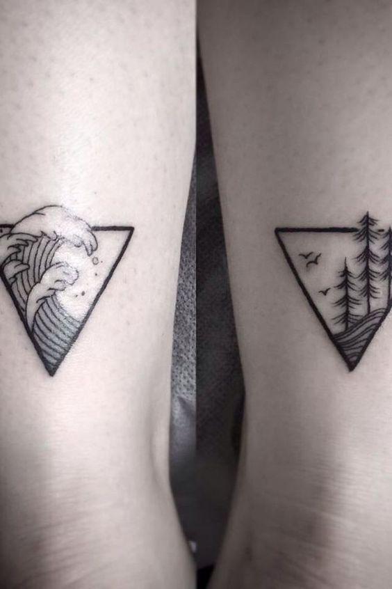 les 25 meilleures idées de la catégorie tatouages montagne sur