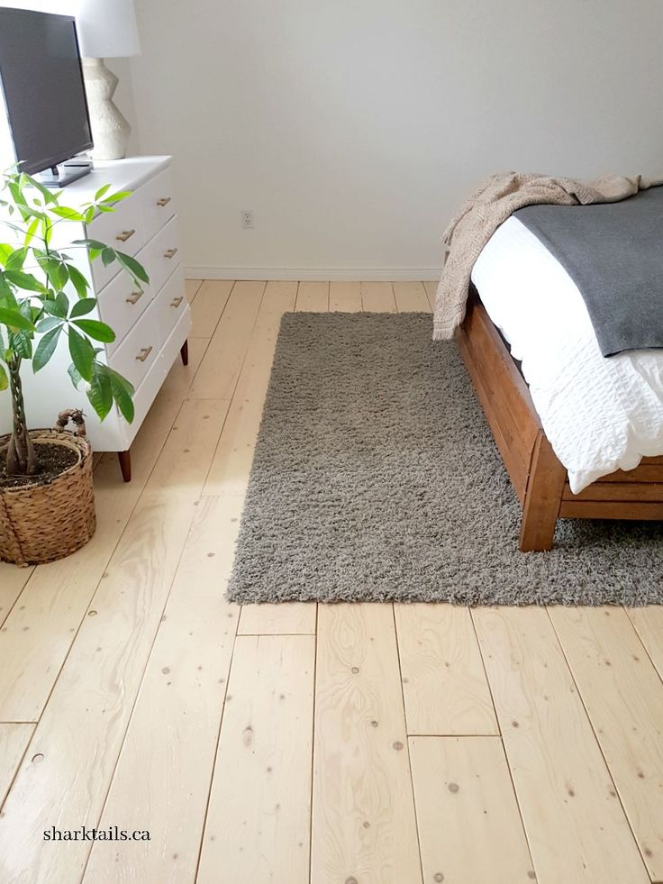 Plywood Floors Update: How Are They Holding Up One Year Later?