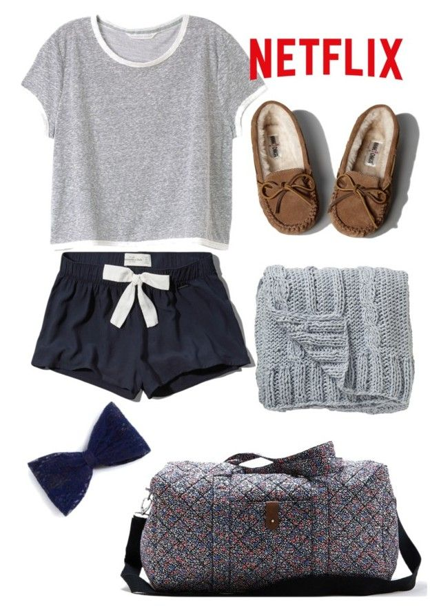 """Sleepover Style♡"" by amazinggrace31 ❤ liked on Polyvore featuring Abercrombie & Fitch, Victoria's Secret, American Eagle Outfitters and Bloomingville"