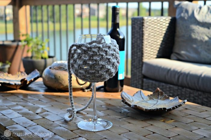 We love wine and we love walking. We want to be able to do both. The solution? A super quick work up of a Wine Glass Lanyard - a FREE crochet pattern!