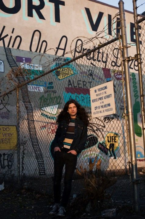 Cool photo of Kurt Vile here to go along with a cool album, Wakin' On A Pretty Daze!