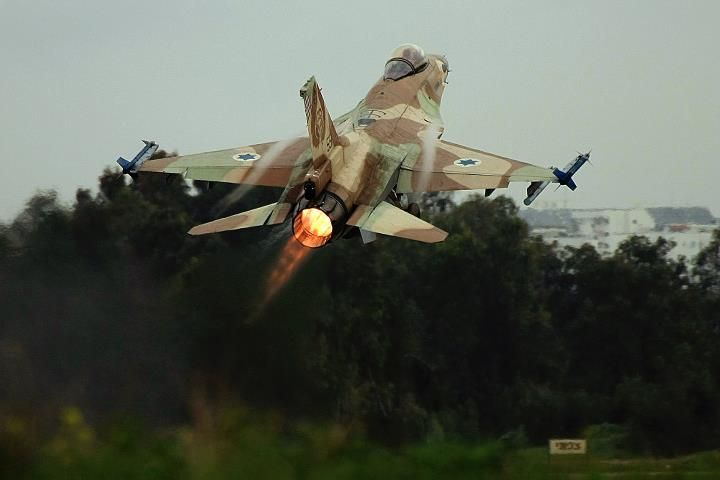 Israeli Air Force F-16I Fighting Falcon or Netz as known in Hebrew in Israeli service.