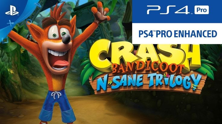 Crash Bandicoot N.Sane Trilogy Will Run At 1440p/30FPS On PS4 Pro