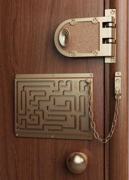 puzzle padlock invention