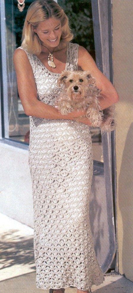 Simple y hermoso: el vestido calado crochet. Debate Sobre LiveInternet - Servicio RUSOS Diarios Online