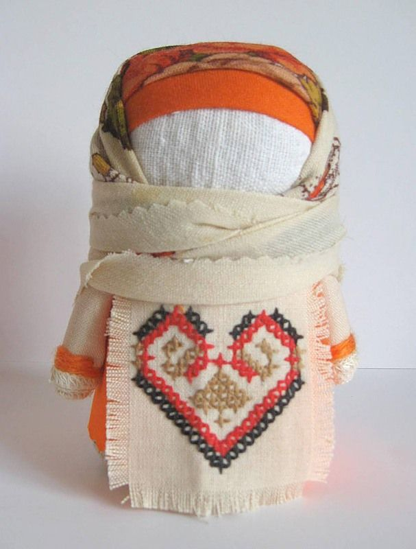 Крупеня: Doll stuffed with grains - for prosperity
