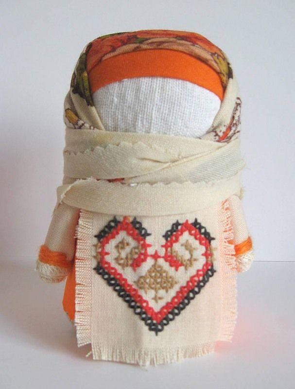 Крупеня: Doll stuffed with grains - for prosperity