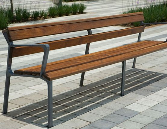 Bosquema Teak Wood Outdoor Bench Seat Natural, Cast Finish, Outdoor Design. www.vibehospitality.com Your Approved Manufacturer Agent.