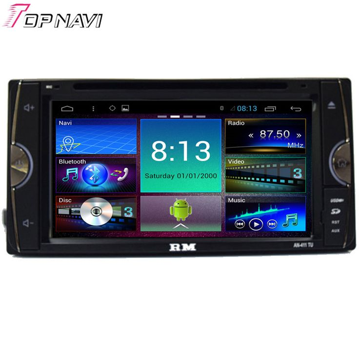 Top 6.95'' Quad Core Android 4.4.4 Car Dvd Player For Toyota Universal With 16GB Flash Mirror Link GPS Map Free Shipping