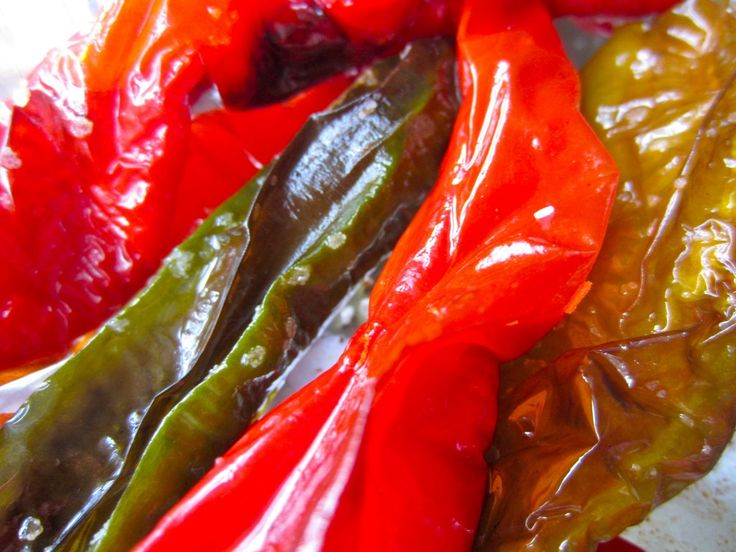 Roasted Long Hot Peppers - in the oven - so easy!