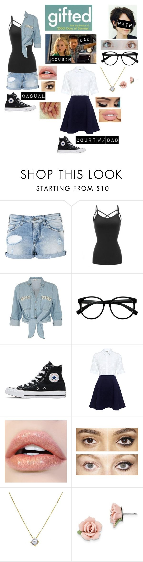 """""""+Me in Gifted+"""" by blissfull-darkness ❤ liked on Polyvore featuring Armani Jeans, River Island, Retrò, Converse, Paul & Joe Sister, Charlotte Tilbury and 1928"""