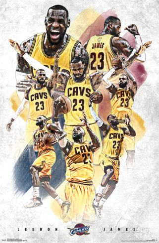 Cleveland Cavaliers- Lebron James 15 Posters at AllPosters.com