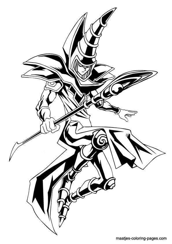 30 Coloriage Yu Gi Oh Facile Yugioh Tattoo Monster Coloring Pages Yugioh Monsters