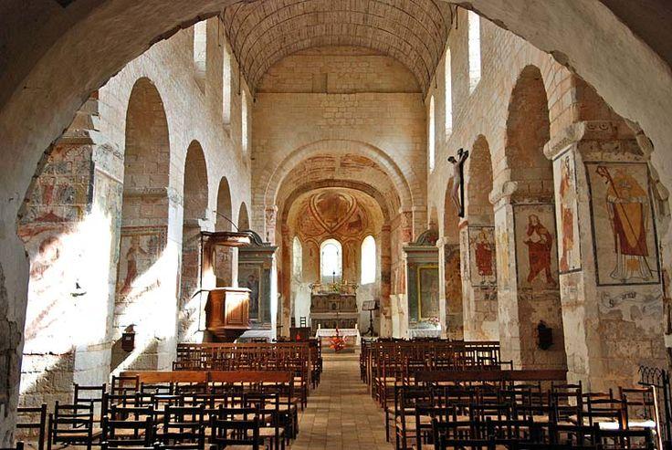 St-Genest, Lavardin Pilgrimage Church. Languedoc
