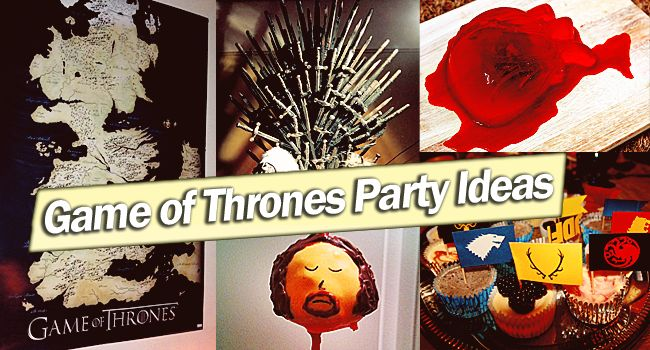 127 best game of thrones party ideas images on pinterest for Game of thrones birthday party