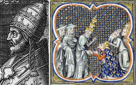 """Innocent IV was Pope from 1243 to 1254. Certainly the Inquisition represents the darkest of Roman Church history, and it was Innocent IV who approved the use of torture to extract confessions of heresy. He aggressively applied the principle that """"the end justifies the means."""" It is shocking to learn about the deranged instruments of torture that were used on so many innocent people."""