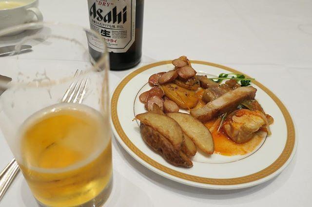 ヒルトン大阪 8/26 #夕食 #晩ごはん #手抜き #dinner #food #instafood #肉 #meat #外食 #eatout #eatoutjp #eatoutjapan #大阪 #osaka